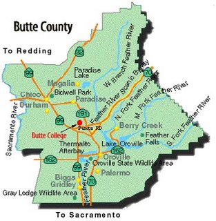butte-county-map