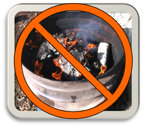 no burn barrel